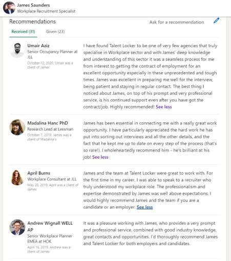 Talent Locker reviews