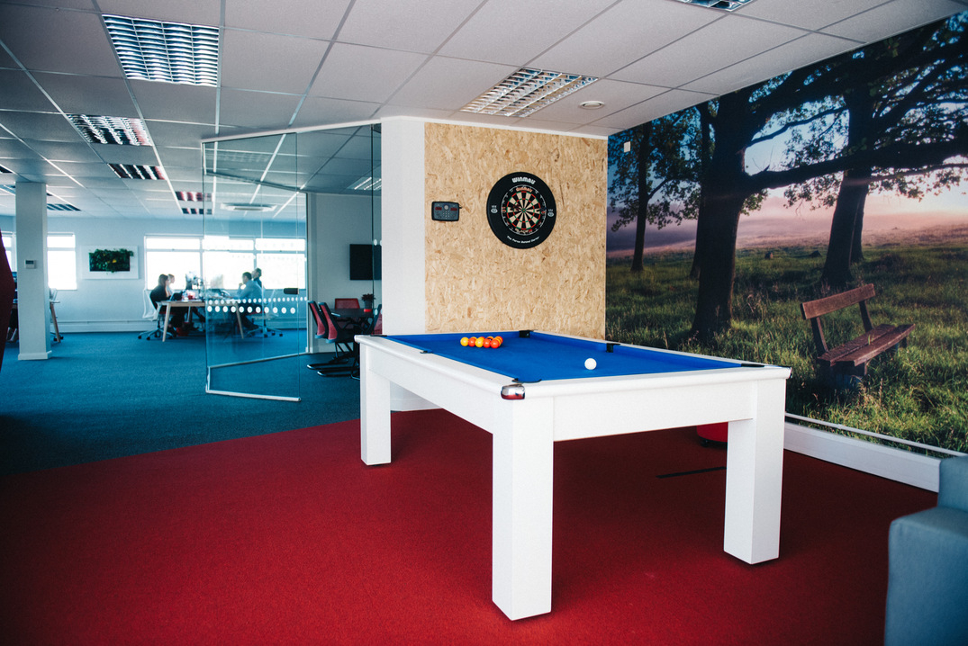 Office pool table